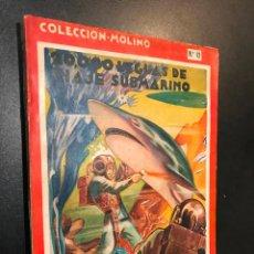 Libros de segunda mano: 20000 LEGUAS DE VIAJE SUBMARINO JULIO VERNE EDITORIAL MOLINO 1954. Nº 12. Lote 114506195