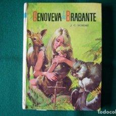 Libros de segunda mano: GENOVEVA DE BRABANTE - J.C. SCHEMIZ - COLECCIÓN AMABLE - Nº 10 AÑO 1974. Lote 114522603