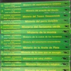 Libros de segunda mano: ALFRED HITCHCOK Y LOS TRES INVESTIGADORES 34 TOMOS. MOLINO. Lote 114700987