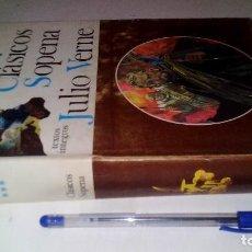 Libros de segunda mano: JULIO VERNE-CLASICOS SOPENA-TOMO III-TAPAS DURAS + SOBRECUBIERTA. Lote 115003379