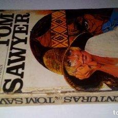 Libros de segunda mano: LAS AVENTURAS DE TOM SAWYER-MARK TWAIN-EDICIONES PAULINAS-1974. Lote 115044687