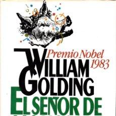 Libros de segunda mano: WILLIAM GOLDING. EL SEÑOR DE LAS MOSCAS. CIRCULO DE LECTORES, BARCELONA 1987.. Lote 115526055