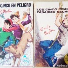 Libros de segunda mano: DOS TOMOS DE HISTORIAS DE - LOS CINCO - DE -ENID BLYTON . Nº38 1976 Y Nº 36 1974. Lote 115750103