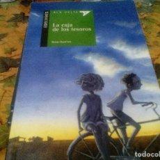 Livres d'occasion: LA CAJA DE LOS TESOROS. ROSA HUERTAS (EDELVIVES, ALA DELTA) . Lote 115981463