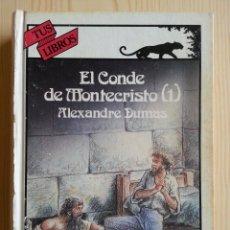 Libros de segunda mano: EL CONDE DE MONTECRISTO (1), POR DUMAS. ANAYA TUS LIBROS Nº 99, 1ª EDICIÓN, 1990. Lote 116797363