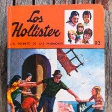 Libros de segunda mano: LOS HOLLISTER Y EL SECRETO DE LAS MARMOTAS, Nº 23. AUTOR, JERRY WEST. EDITORIAL TORAY AÑO 1980.. Lote 116901619
