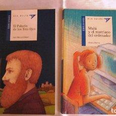 Libros de segunda mano: ALA DELTA LOTE DE 2 VOLUMENES. TITULOS SEGUN FOTOGRAFIAS. MUY BUEN ESTADO.. Lote 116958255
