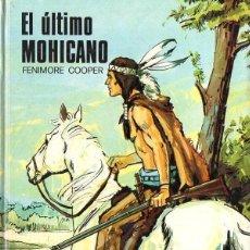 Libros de segunda mano: FENIMORE COOPER : EL ÚLTIMO MOHICANO (SUSAETA, 1975) ILUSTRADO EN COLOR. Lote 117257523