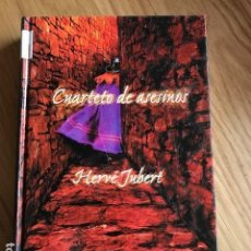 Libros de segunda mano: CUARTETO DE ASESINOS. HENRÉ JUBERT.. Lote 117430747
