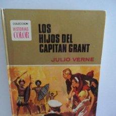Libros de segunda mano: LOS HIJOS DEL CAPITAN GRANT JULIO VERNE - COLECCION HISTORIAS COLOR BRUGUERA . Lote 117586471