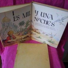 Libros de segunda mano: CARMEN AGULLO - LAS MIL Y UNA NOCHES, GRANDES OBRAS ILUSTRADAS - EDAF 1971, 2 TOMOS. Lote 117933203
