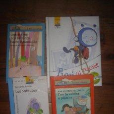 Libros de segunda mano: LOTE 4 LIBROS DE LA SERIE EL BARCO DE VAPOR DE LA EDITORIAL SM, MUY BUEN ESTADO.. Lote 117968911