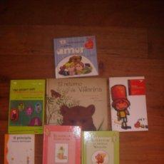 Libros de segunda mano: LOTE 7 LIBROS DE LITERATURA INFANTÍL MUY BUEN ESTADO. Lote 118006571