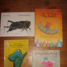 Libros de segunda mano: EXCEPCIONAL LOTE LIBROS INFANTILES DE GRAN CALIDAD CON ESPLÉNDIDAS ILUSTRACIONES, ESPLÉNDIDO ESTADO. Lote 118195391