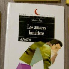 Libros de segunda mano: LOS AMORES LUNÁTICOS LORENZO SILVA. Lote 139929633