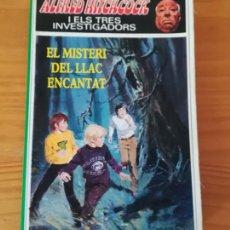 Libros de segunda mano: ALFRED HITCHCOCK I ELS TRES INVESTIGADORS 19 EL MISTERI DEL LLAC ENCANTAT. MOLINO CATALA. Lote 119019971