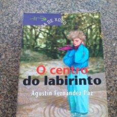 Libros de segunda mano: O CENTRO DO LABIRINTO -- AGUSTIN FERNANDEZ PAZ -- XERAIS 1998 --. Lote 179225676