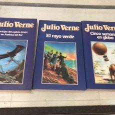 Libros de segunda mano: COLECCION LIBROS JULIO VERNE. Lote 120110510