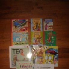 Libros de segunda mano: EXCEPCIONAL LOTE 11 LIBROS INFANTILES , ESPLÉNDIDO ESTADO. Lote 120747303