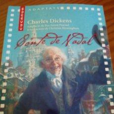 Libros de segunda mano: CONTE DE NADAL - CHARLES DICKENS. Lote 121360791
