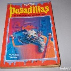 Libros de segunda mano: PESADILLAS, Nº 58 EL MISTERIO DE LOS HOMBRES LOBO, R.L. STINE. EDICIONES B 1ª ED. MAYO 1.999. Lote 121543119