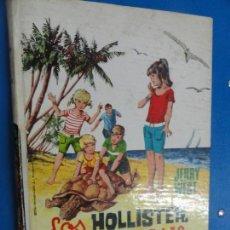 Libros de segunda mano: LOS HOLLISTER EN LA ISLA DE LAS TORTUGAS - JERRY WEST. Lote 121880527
