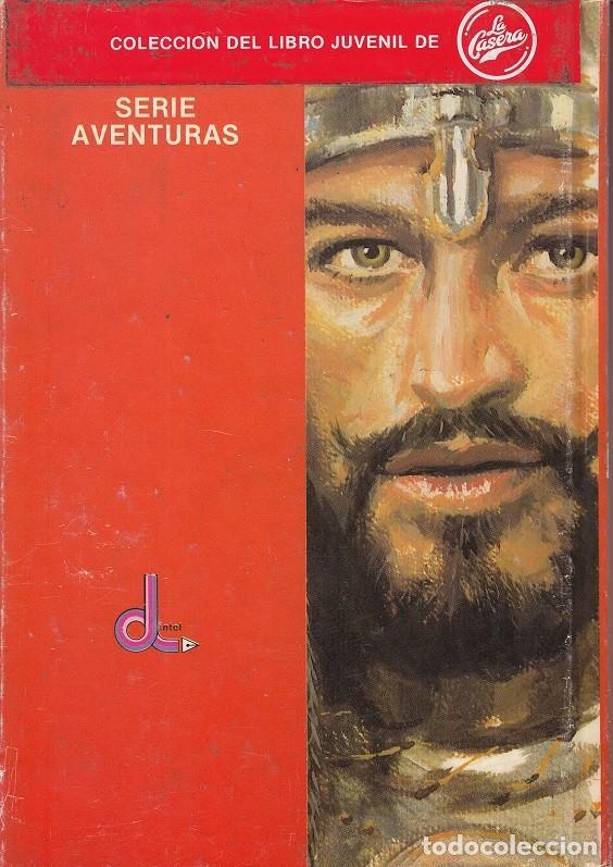Libros de segunda mano: EL LEON DE DAMASCO - EMILIO SALGARI - COLECCION DEL LIBRO JUVENIL DE LA CASERA EDITORIAL DINTEL - Foto 2 - 121913859