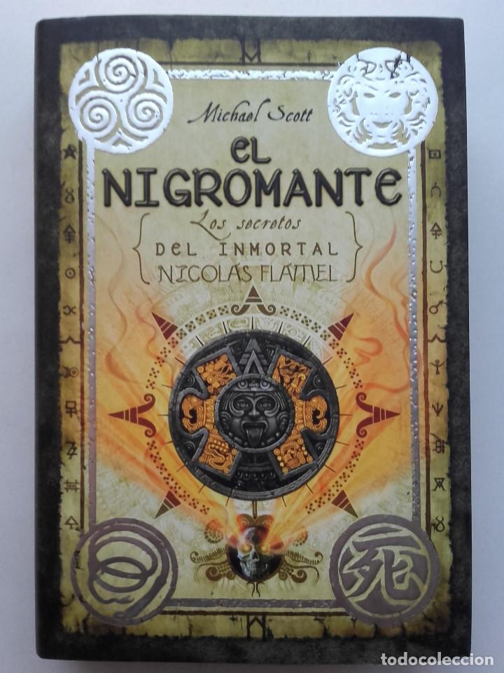 EL NIGROMANTE. LOS SECRETOS DEL INMORTAL. NICOLAS FLAMEL - MICHAEL SCOTT (Libros de Segunda Mano - Literatura Infantil y Juvenil - Novela)