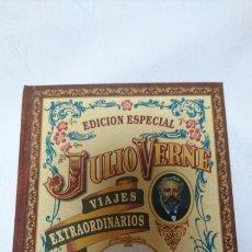 Libros de segunda mano: JULIO VERNE: EL RAYO VERDE. Lote 122024564