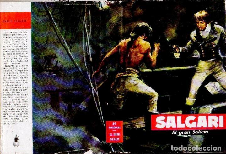 SALGARI : EL GRAN SAKEM (MOLINO, 1961) (Libros de Segunda Mano - Literatura Infantil y Juvenil - Novela)
