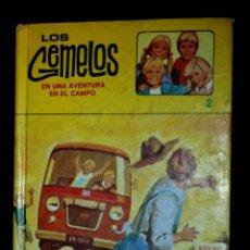 Libros de segunda mano: LOS GEMELOS EN UNA AVENTURA EN EL CAMPO Nº2 , (DE L.L.HOPE ). Lote 122278055