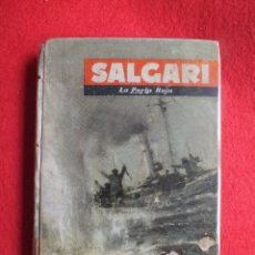 Libros de segunda mano: EMILIO SALGARI LA PERLA ROJA EDITORIAL MOLINO 1957 Nº 41 NOVELA. Lote 122439239