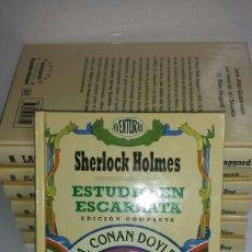 Libros de segunda mano: ESTUDIO EN ESCARLATA , A. CONAN DOYLE , COLECCION AVENTURAS GRANDES HEROES . Lote 122633879