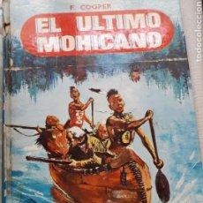 Libros de segunda mano: LIBRO ÚLTIMO MOHICANO. Lote 124037188