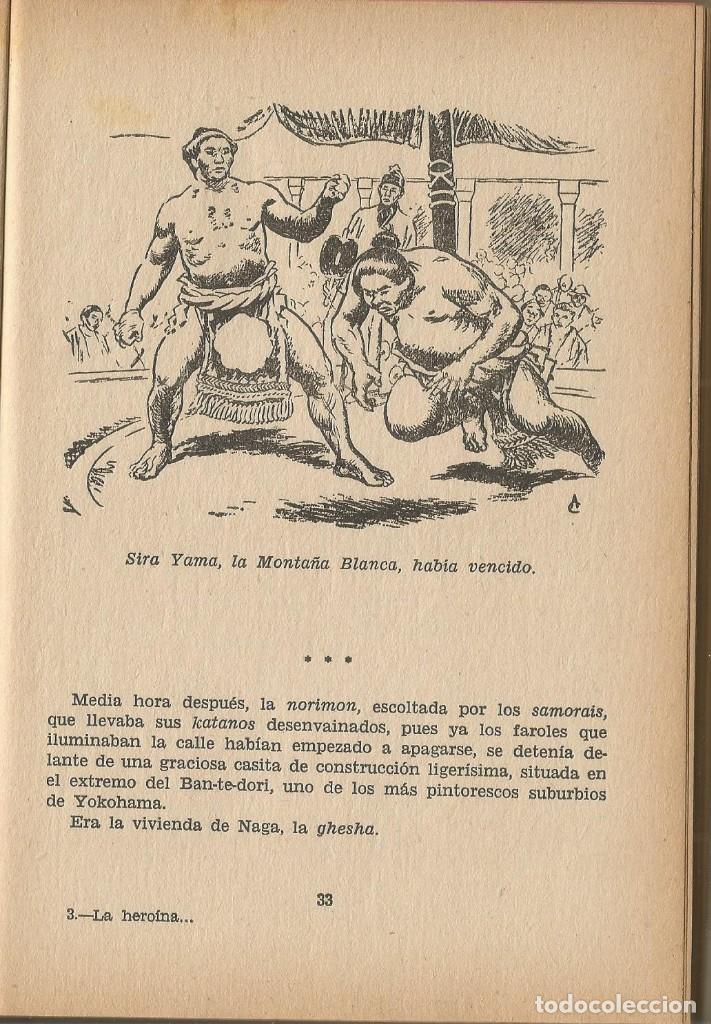 Libros de segunda mano: LA HEROÍNA DE PUERTO ARTUR-EMILIO SALGARI-EDITORIAL MOLINO-AÑO 1961 - Foto 3 - 124968467