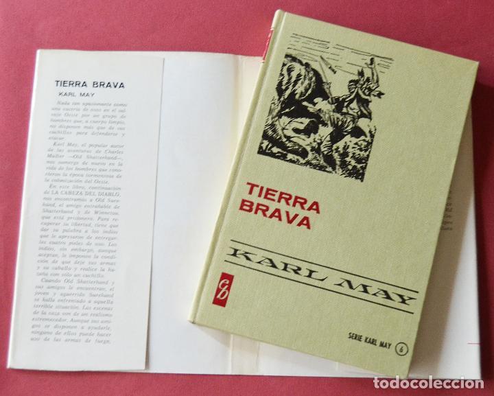 Libros de segunda mano: TIERRA BRAVA - KARL MAY - COLECCIÓN HISTORIAS SELECCION - 1ª EDICION - 1970 - Foto 2 - 125001475