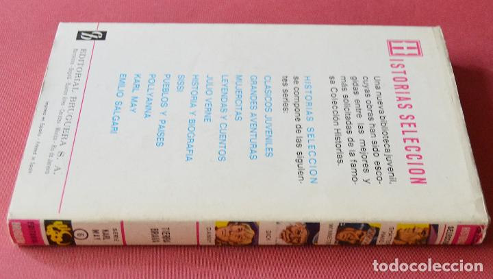 Libros de segunda mano: TIERRA BRAVA - KARL MAY - COLECCIÓN HISTORIAS SELECCION - 1ª EDICION - 1970 - Foto 3 - 125001475