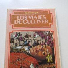 Libros de segunda mano: GRANDES AVENTURAS ILUSTRADAS - ED, BRUGUERA - 1984 - LOS VIAJES DE GULLIVER. CS130. Lote 125288131