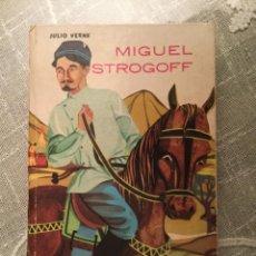 Libros de segunda mano: MIGUEL STROGOFF. JULIO VERNE. EDITORIAL MATEU 1964. Lote 125345943