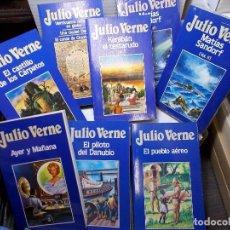 Libros de segunda mano: COLECCION COMPLETA NOVELAS DE JULIO VERNE EDITORIAL ORBIS NUEVAS 100 VOLUMENES. Lote 125793227