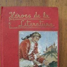 Libros de segunda mano: HÉROES DE LA LITERATURA. Nº 3. DAVID COPPERFIELD. D. 13´6 CM. POR 10 CM ENCUADERNADO EN TELA.. Lote 125956543