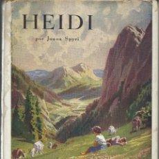 Libros de segunda mano: HEIDI, JUANA SPYRI. Lote 126094223