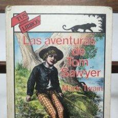 Libros de segunda mano: LAS AVENTURAS DE TOM SAWYER.MARK TWAIN . TUS LIBROS ANAYA. Lote 126366555