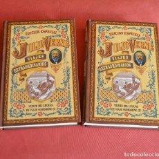 Libros de segunda mano: VEINTE MIL LEGUAS DE VIAJE SUBMARINO - JULIO VERNES - 2 TOMOS - EDICION ESPECIAL 2007 - VIAJES EXTR. Lote 126523715