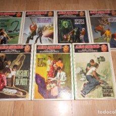 Libros de segunda mano: ALFRED HITCHCOCK Y LOS TRES INVESTIGADORES - LOTE DE 7 LIBROS. Lote 162791218