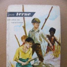 Libros de segunda mano: LIBRO DOS AÑOS DE VACACIONES - JULIO VERNE - EDITORIAL MOLINO 1959. Lote 127479095