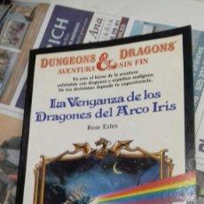 Libros de segunda mano: LA VENGANZA DE LOS DRAGONES DEL ARCO IRIS.ROSE ESTES. Lote 128142320