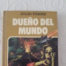 Libros de segunda mano: DUEÑO DEL MUNDO, JULIO VERNE COLECCIÓN HISTORIAS SELECCIÓN, EDITORIAL BRUGUERA. Lote 128837979