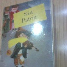Libros de segunda mano: LIBRO,OBRA JUVENIL, SIN PATRIA,JUANA SPYRI,AÑO 1957. Lote 128887050