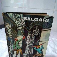 Libros de segunda mano: 91-LA CIUDAD DEL REY LEPROSO, SALGARI, 1970, ILUSTRADO.. Lote 129111467